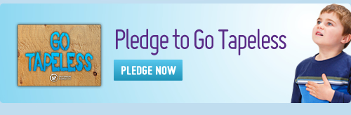 Protect Your Home — Pledge to Go Tapeless