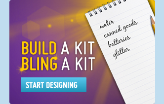 Build a kit, bling a kit button